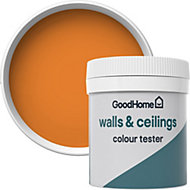 GoodHome Walls & ceilings Valencia Matt Emulsion paint 0.05L Tester pot