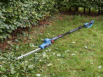 ERBAUER 18V 41CM POLE HEDGE TRIMMER BA