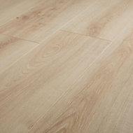 Ledbury Natural Oak effect Laminate Flooring Sample