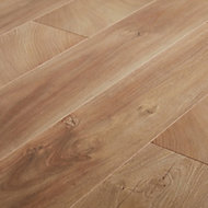 Lydney Natural Oak effect Laminate Flooring Sample
