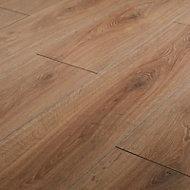 Neston Natural Oak effect Laminate Flooring Sample