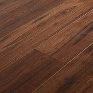 GoodHome Otley Brown Oak effect Laminate flooring, Sample