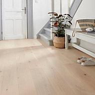 Goodsir Natural Oak Real wood top layer Flooring Sample