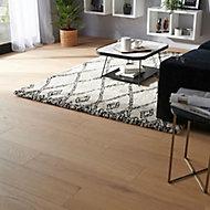Halland White Oak Real wood top layer Flooring Sample