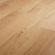 Hedmark Natural Oak Real wood top layer Flooring Sample