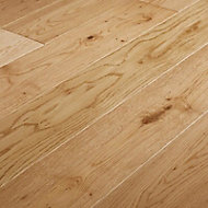 Liskamm Natural Satin Oak Real wood top layer Flooring Sample