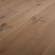 Romsdal Grey Oak Real wood top layer Flooring Sample