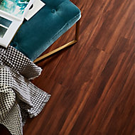 Chaiya Wood effect Bamboo Real wood top layer Flooring Sample
