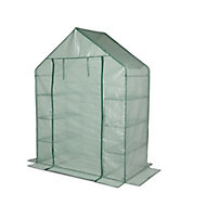 Plastic Greenhouse (L)750mm x (W)1450mm