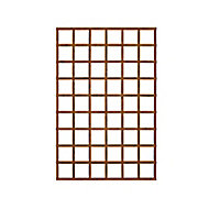 Traditional Wooden Square Trellis panel (H)1.83m(W)1.2m