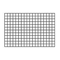 Metal Rectangle Trellis (H)0.9m(W)0.6m