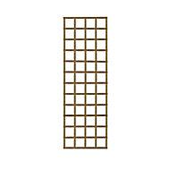 Elite Wooden Square Trellis panel (H)1.83m(W)0.61m