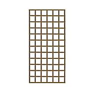 Elite Wooden Square Trellis panel (H)1.83m(W)0.9m
