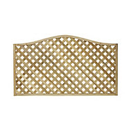 Woodbury Wooden Lattice Trellis panel (H)1.05m(W)1.8m