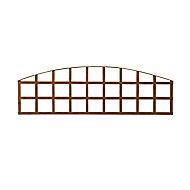 Wooden Arched Trellis (H)0.57m(W)1.83m