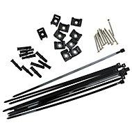 Plastic Trellis fixing accessory kit, Set of 10