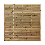 Blooma Douro Pine Fence panel (W)1.8 m (H)1.8m