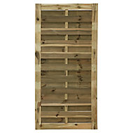 Blooma Douro Pine Fence panel (W)0.9 m (H)1.8m