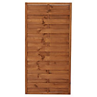 Blooma Arve Pine Fence panel (W)0.9 m (H)1.8m