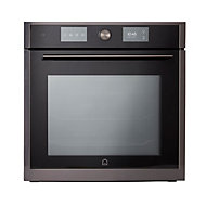 GoodHome Bamia GHOM71 Black Built-in Electric Compact Multifunction with microwave Oven