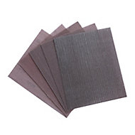 Erbauer Semi-friable aluminium oxide Assorted Hand sanding sheets, Pack of 5