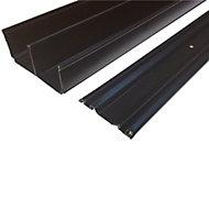 Valla Sliding wardrobe door track (L)1200mm