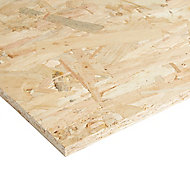 Smooth OSB 3 Board (L)1.22m (W)0.61m (T)12mm