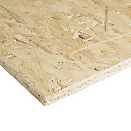 Smooth OSB 3 Board (L)1.22m (W)0.61m (T)18mm