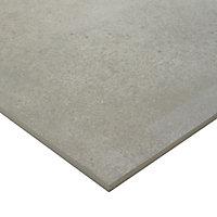 Kontainer Greige Matt Concrete effect Porcelain Floor Tile Sample