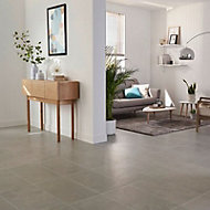 Structured Grey Matt Concrete effect Porcelain Floor Tile Sample