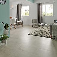 Palemon Ivory Matt Stone effect Porcelain Floor Tile Sample