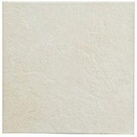 Cirque Beige Matt Plain Stone effect Ceramic Floor Tile Sample