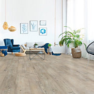 Elbrus Pine effect Laminate flooring, 1.75m² Pack