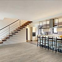 Tambora Pine effect Laminate flooring, 1.75m² Pack