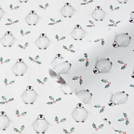 Penguin Christmas wrapping paper 4m
