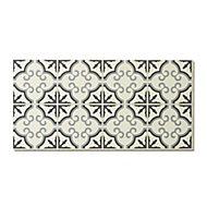 Jazy Flower Mosaic effect Luxury vinyl click Flooring Sample