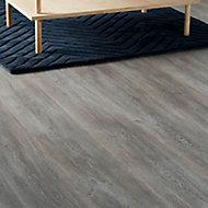 Bundaberg Grey Oak effect Laminate Flooring Sample
