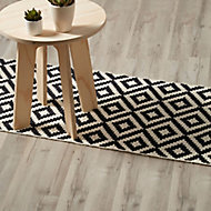 GoodHome Ballapur Grey Oak effect Laminate flooring, Sample