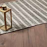 GoodHome Gladstone Natural Dark oak effect Laminate flooring, Sample