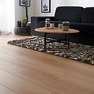 Malton Natural Oak effect Laminate Flooring Sample