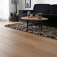 GoodHome Malton Natural Oak effect Laminate flooring, Sample