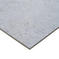 Reclaimed Grey Matt Concrete effect Porcelain Floor tile, Pack of 6, (L)600mm (W)300mm