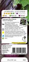 Verve Black beauty aubergine Seed