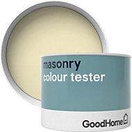 GoodHome Montreal Smooth Matt Masonry paint 0.25L Tester pot