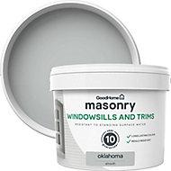 GoodHome Windowsills & trims Oaklahoma Smooth Matt Masonry paint 2.5L