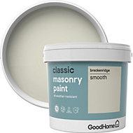 GoodHome Classic Breckenridge Smooth Matt Masonry paint 5L