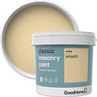 GoodHome Classic Aruba Smooth Matt Masonry paint 5L