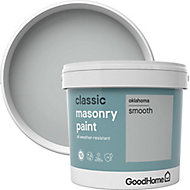 GoodHome Classic Oklahoma Smooth Matt Masonry paint, 5L