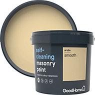 GoodHome Self-cleaning Aruba Smooth Matt Masonry paint 5L