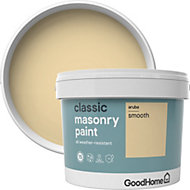 GoodHome Classic Aruba Smooth Matt Masonry paint 10L